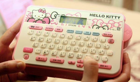 台灣專屬!EPSON 甜心限定Hello Kitty標籤機即日開賣 – MAC改WIN7